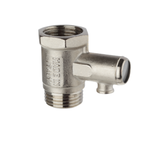BRASS SAFETY VALVE FOR WATER HEATER