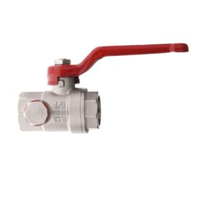 BRASS BALL VALVE WITH OUTLET TAP